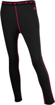 WoBlack/Pink - Arctiva Regulator Mid-Weight Base Layer Bottoms Pants
