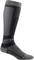 Black/Grey - Arctiva Evaporator  Wicking Socks