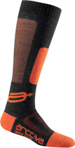 Black/Orange - Arctiva Insulator Heavy Weight  Socks