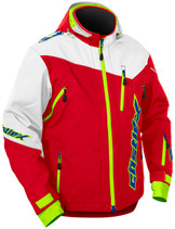 Mens  - Red/White - CastleX Rival Back Country Series Jacket
