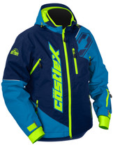 Mens  - Navy/Process Blue - CastleX Stance Back Country Series Jacket
