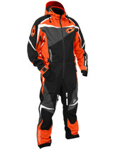 Mens  - Orange/Black - CastleX Freedom Back Country Series Shell Monosuit