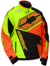 Mens  - Hi-Vis Yellow/Orange - CastleX Launch SE G4 Performance Series Jacket