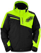 Mens  - Hi-Vis Yellow/Black - CastleX Phase Sport Series Jacket