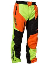 Mens  - Hi-Vis Yellow/Orange - CastleX R17 Sport Series Race Pants