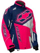 Womens  - Navy Blue/Hot Pink - CastleX Launch SE G4 Performance Series Jacket