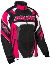 Womens  - Hot Pink/Black - CastleX Bolt G4 Performance Series Jacket