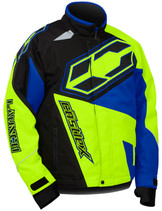 Youth  - Blue/Hi-Vis Yellow - CastleX Launch SE G4  Jacket