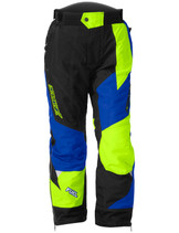 Youth  - Blue/Hi-Vis Yellow - CastleX Fuel SE G6  Pants