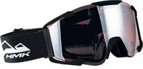 Black - HMK Vapor Snowmobile Goggles