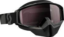Black - Scott Tyrant Snowmobile Goggles