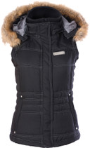Divas Snow Gear Hooded Vest Winter Vest