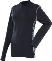 Divas Snow Gear Diva-Tech Lace Base Layer Top