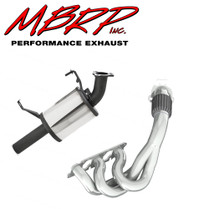 MBRP Polished Stainless Steel Header & Trail Silencer 2014-2016 Arctic Cat M7000