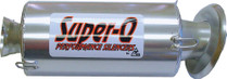Skinz Polished Ceramic Super-Q Silencer 2003-2006 Arctic Cat Sabre Cat 500 EFI
