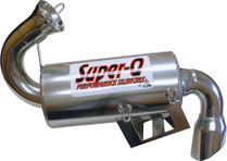 Skinz Polished Ceramic Super-Q Silencer 08-16 Polaris Indy 600 High Output IQ LX