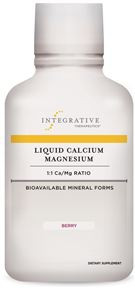 Liquid Calcium Magnesium - Berry (16 oz.) REFRIGERATE AFTER OPENING  **
