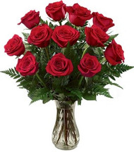 One-Dozen Red Roses