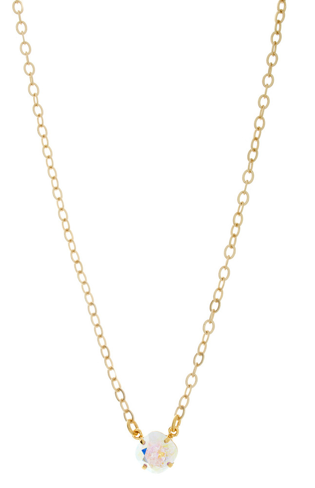 Childrens 10mm Single Drop Necklace Gold