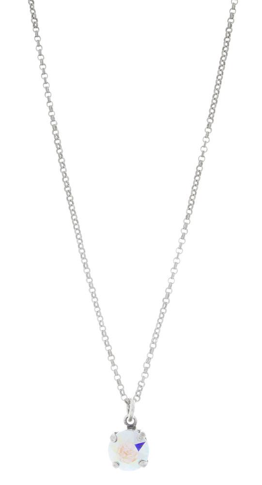 Children's 8mm Single Drop Necklace Silver