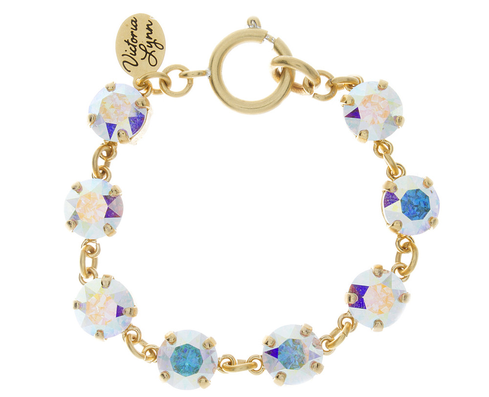 Children's 8mm Round Bracelet Gold