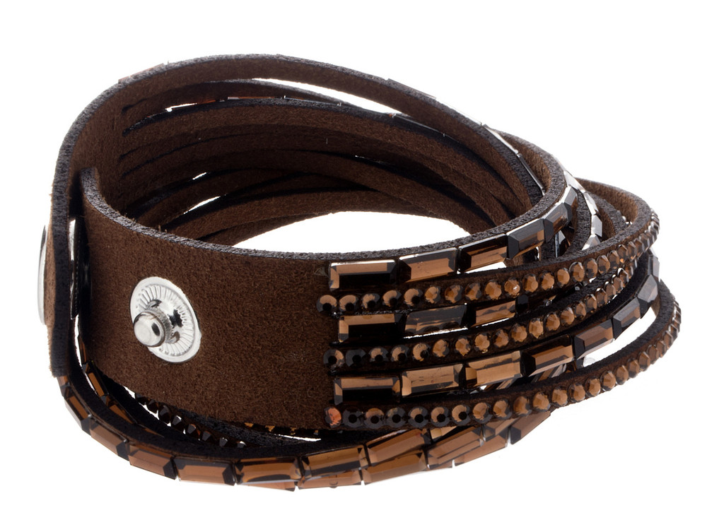 Snap Bracelet - Brown