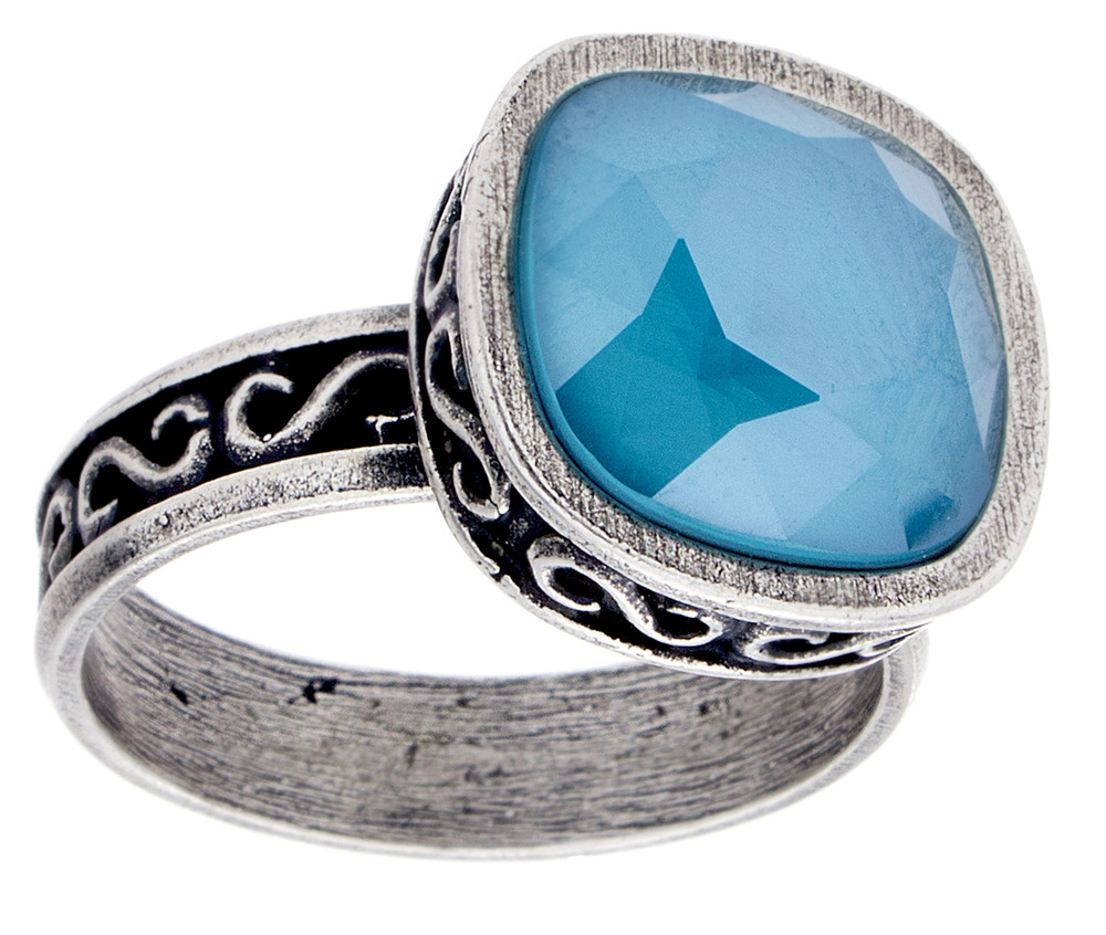 Scroll Ring - Size 9 only