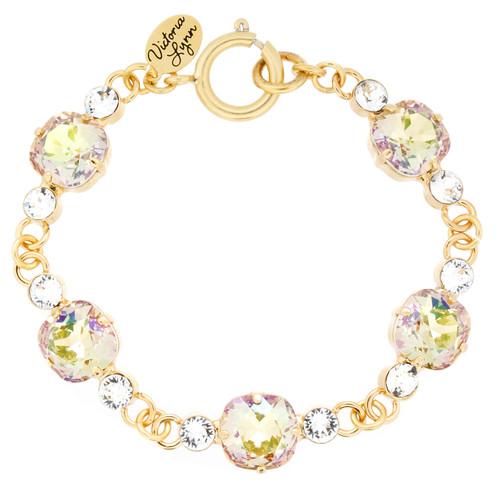 Bracelet 10mm Linked Crystal Accent