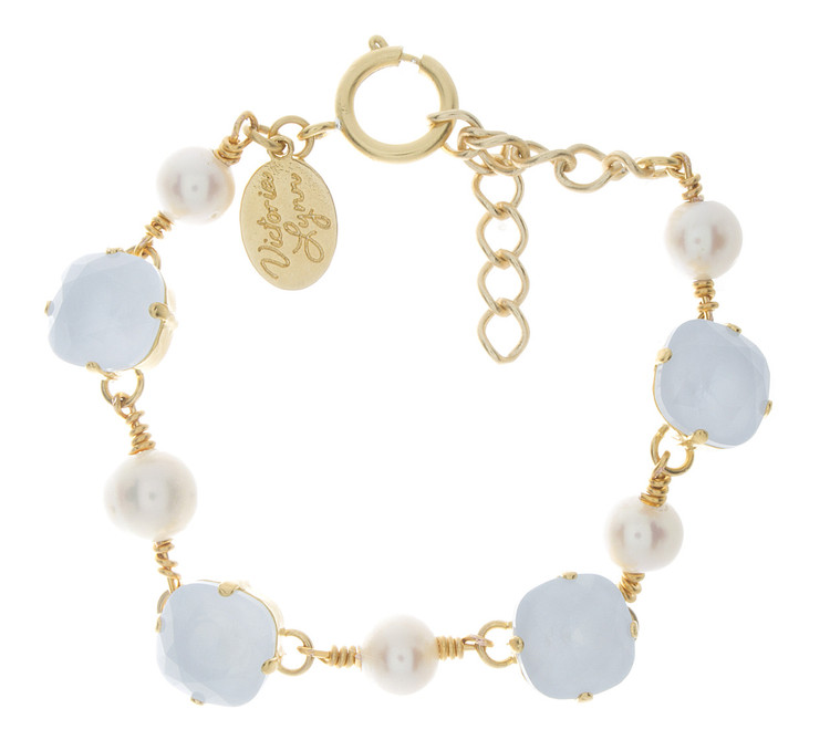 Bracelet 12mm Pearl Accent