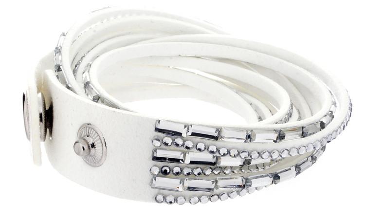 Snap Bracelet - White