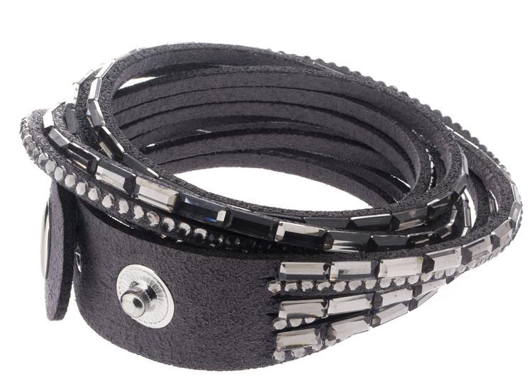 Snap Bracelet - Grey