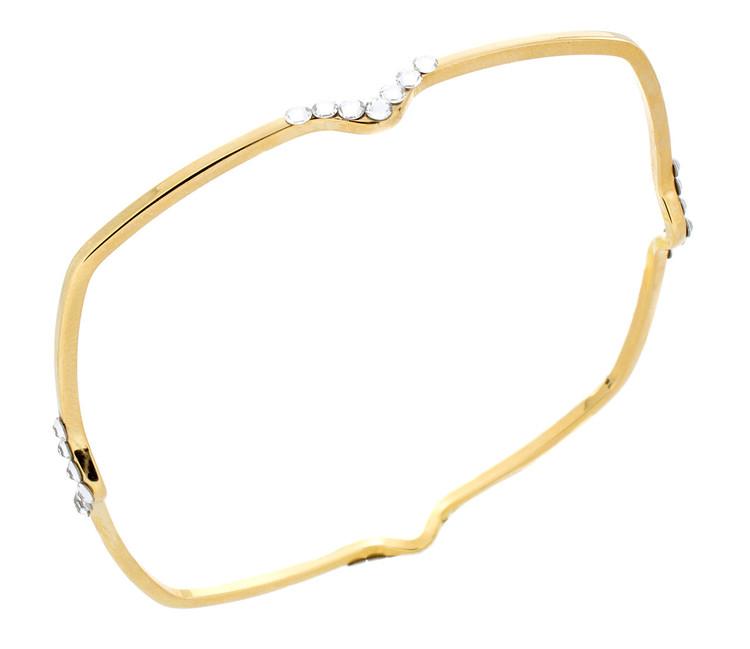 V- Bracelet - Gold