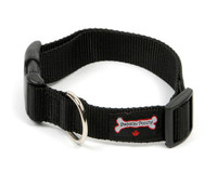 Smoochy Poochy  Nylon Collar - Black