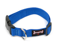 Smoochy Poochy Nylon  Collar - Ocean