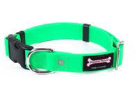 Smoochy Poochy Waterproof Collar Release Buckle - Apple Green
