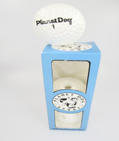 Planet Dog 3 Mint Scented Golf Ball Chewtoys