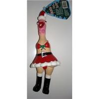Santa's Little Helper Squeaky Chicken
