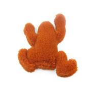 West Paw Toy Frog - Orange
