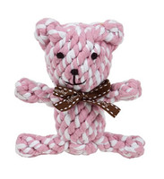 My Sassy Dog Rope Toy - Pinkie the Bear