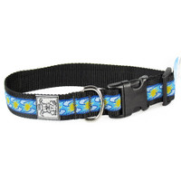 "Rc Pet Products Clip Collar - ""Sunshine Blue"""