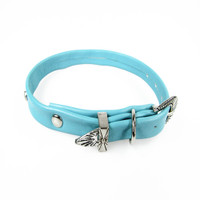 "Sit Up ""n"" Beg -  Monaco Collar Turquoise"