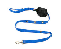 Smoochy Poochy  Nylon Hands-Free Leash  - Ocean