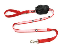 Smoochy Poochy 2Tone Hands-Free Leash - Red Baby Pink