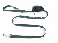 Smoochy Poochy  Nylon Hands-Free Leash - Jaguar