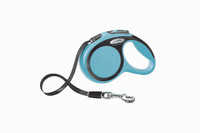 Flexi New Comfort Tape Retractable Leash - Blue