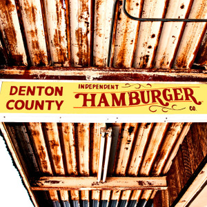 Denton Hamburger // FTX310