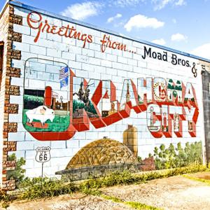 Greetings Oklahoma // OK018