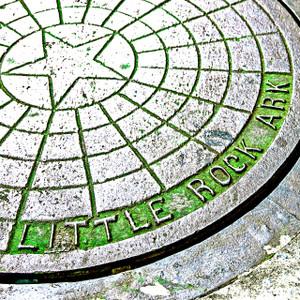 Little Rock Manhole // LR012