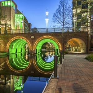 Woodlands Green Bridge // HTX105