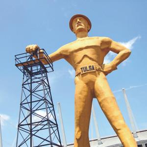 Tulsa Statue // OK048